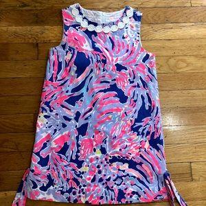 Lilly Pulitzer Girls Coral Purple Dress